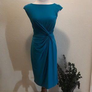 Ralph Lauren midi formal dress